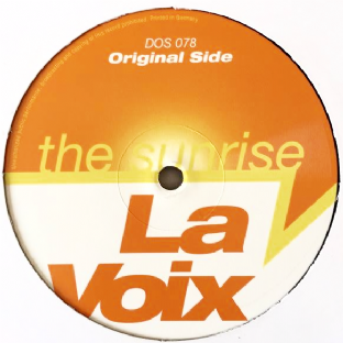 "La Voix ‎- The Sunrise (12"") (VG-/G+)"